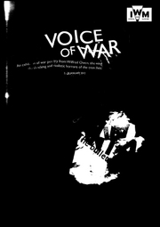 Katie Hilton - 'Voice of War'