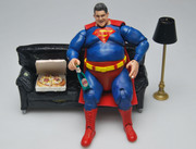 Joel Moore - Fat Superman, Superheroes series