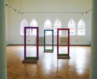 Saffina Bhatti - View of doorways set in a East/West position
