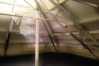 Lewis Davies - Family Portrait 3, 2013, Federation House, Data Projection