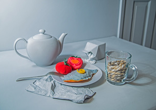 Nicola Povey - Kippers For Breakfast (Still Life. Naturally.)