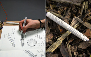 Felix Bell - PLAnt-it is the worlds first 3D printed, fully biodegradable pen.