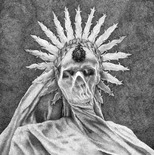 Bethany White - Crux Lupus Corona. 'On a wheel profound death was crowned.' Cover image for Inconcessus Lux Luics 2014 EP.
