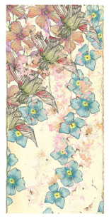 Jessica Brown - Surface Print design, part of the Floral Scent collection. One of eight prints.