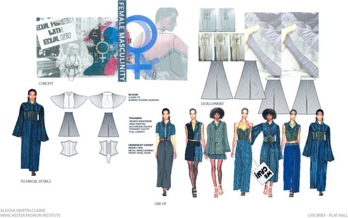Class Of 2020 Ba Hons Fashion Design And Technology Profile Manchester Fashion Institute