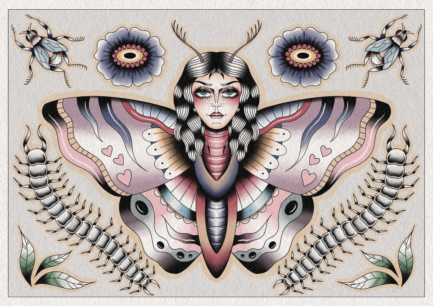 Work by Caitlan Hargreaves